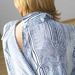 detail rug blouse